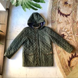 French Connection Quilted Barn Jacket 9/10 Yrs